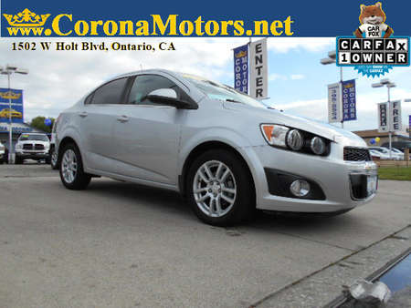 2015 Chevrolet Sonic LT for Sale  - 12731  - Corona Motors