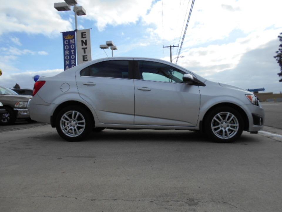 2015 Chevrolet Sonic  - Corona Motors