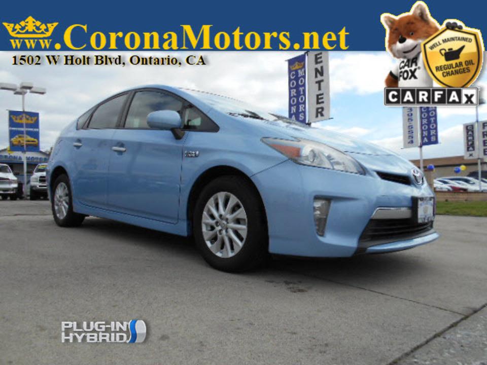 2012 Toyota Prius Plug-In  - 12732  - Corona Motors