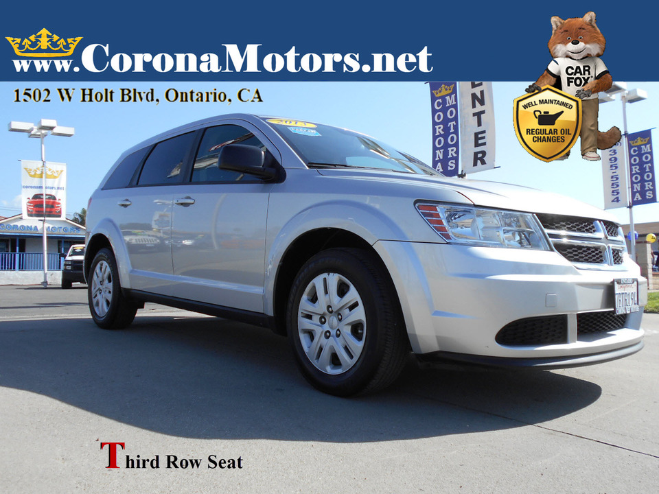 2013 Dodge Journey American Value Pkg  - 13185  - Corona Motors