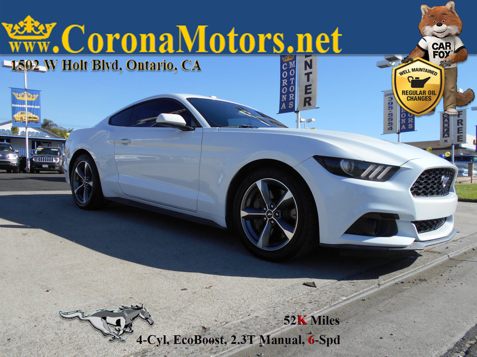 2015 Ford Mustang EcoBoost  - 12919  - Corona Motors