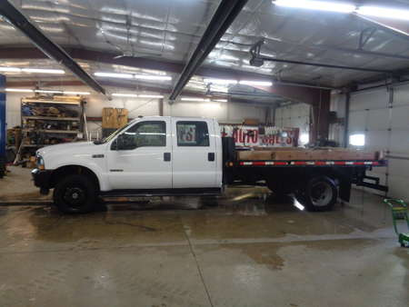2004 Ford F-550 Super Duty Crew Cab & Chassis Dually Diesel 4x4 for Sale  - 617  - West Side Auto Sales