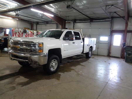 2016 Chevrolet Silverado 2500 HD Crew Cab Utility Truck for Sale  - 743  - West Side Auto Sales