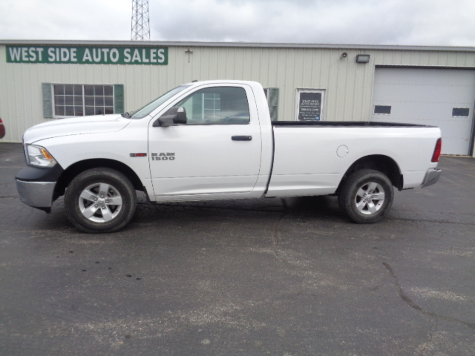 2014 Ram 1500 Regular Cab Tradesman Ecodiesel 4x4  - 714  - West Side Auto Sales