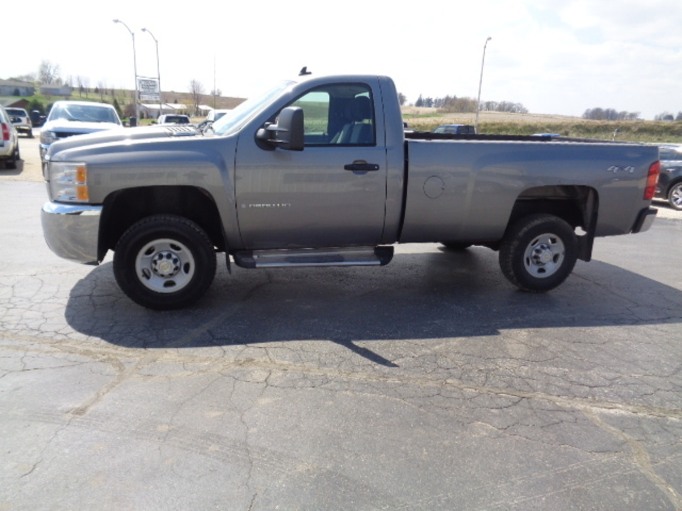 2007 Chevrolet Silverado 2500 HD Regular Cab 4x4  - 638  - West Side Auto Sales
