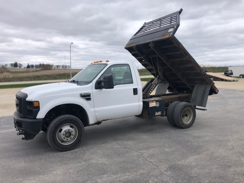 2008 Ford F-350 SUPER DUTY REGULAR CAB DUALLY DUMP TRUCK  - 789  - West Side Auto Sales