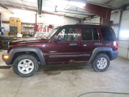 2004 Jeep Liberty 4x4 for Sale  - 653  - West Side Auto Sales