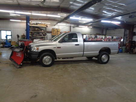 2009 Dodge Ram 2500 Regular Cab ST 4x4 w/plow & Sander for Sale  - 725  - West Side Auto Sales