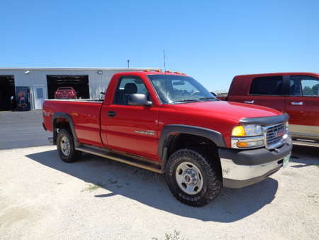 2002 GMC Sierra 2500 HD Regular Cab Long Box Diesel 4x4 for Sale  - 549  - West Side Auto Sales