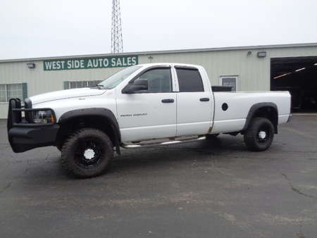 2004 Dodge Ram 2500 Quad Cab ST Diesel Long Box 4x4 for Sale  - 670  - West Side Auto Sales