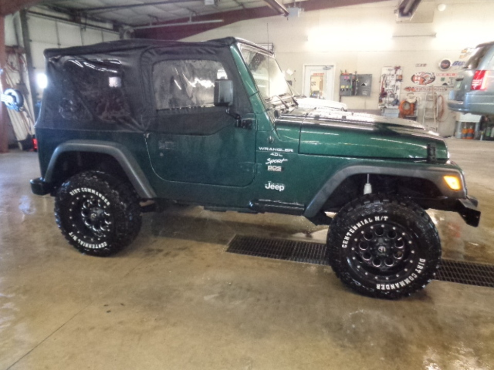 2001 Jeep Wrangler Sport 4WD  - 755  - West Side Auto Sales