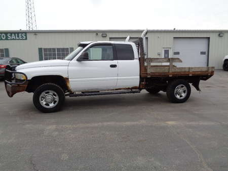 1998 Dodge Ram 2500 Club Cab Flat Bed Diesel 4x4 for Sale  - 765  - West Side Auto Sales