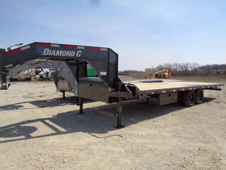 2021 Other Other Diamond C 26' Electric Tip Bed Gooseneck Trailer for Sale  - 5007  - West Side Auto Sales