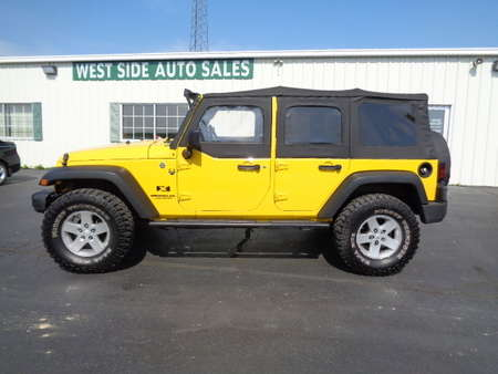 2008 Jeep Wrangler Unlimited X 4x4 for Sale  - 546  - West Side Auto Sales