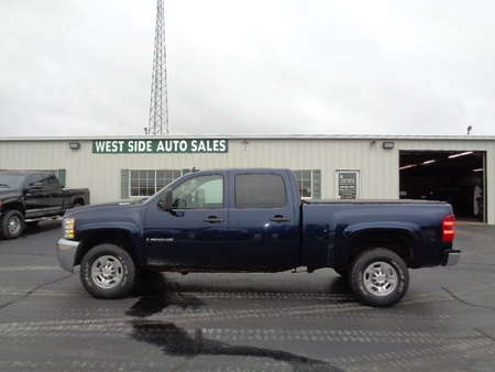 2009 Chevrolet Silverado 2500 HD CREW CAB LT 4X4 for Sale  - 572  - West Side Auto Sales