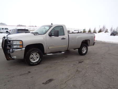 2009 Chevrolet Silverado 2500 HD LT Regular Cab 4x4 for Sale  - 747  - West Side Auto Sales