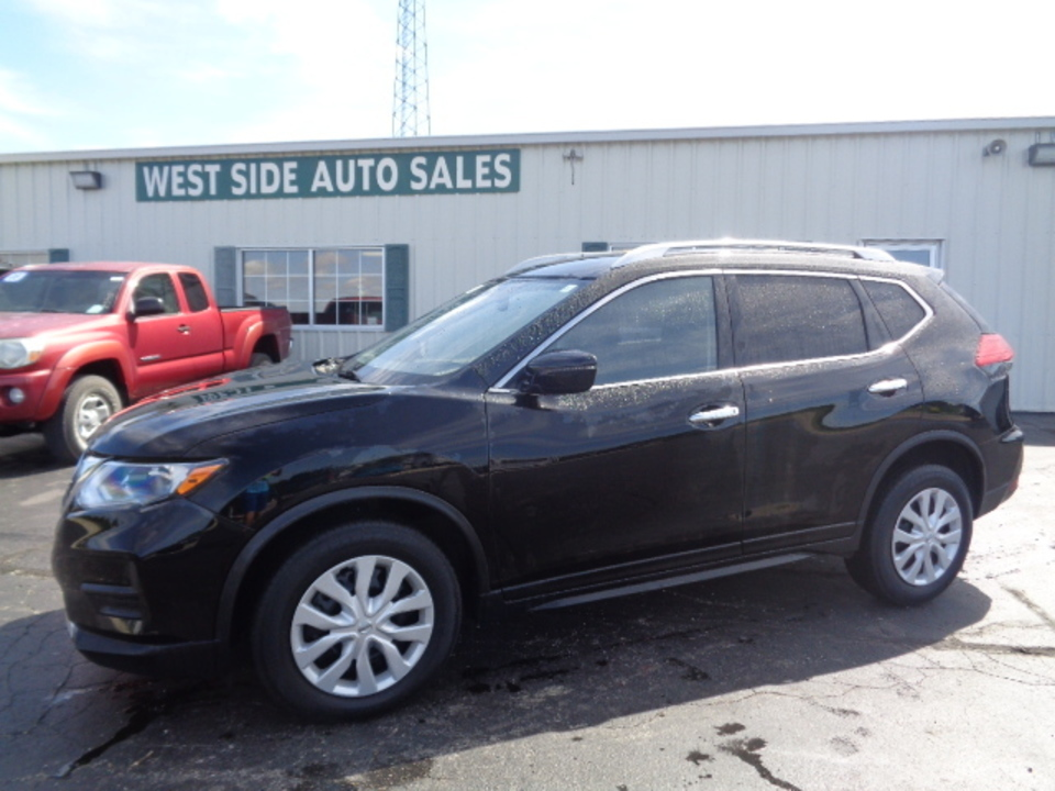 2017 Nissan Rogue S AWD  - 682  - West Side Auto Sales