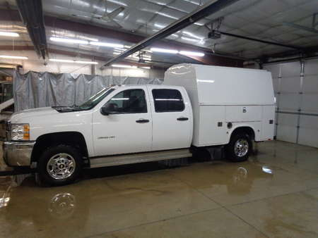 2011 Chevrolet Silverado 2500 HD Crew Cab Utility Truck 4x4 for Sale  - 485  - West Side Auto Sales