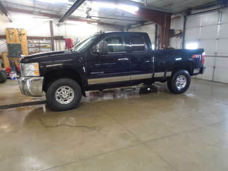 2009 Chevrolet Silverado 2500 HD EXTENDED CAB LT DIESEL 4X4 for Sale  - 707  - West Side Auto Sales