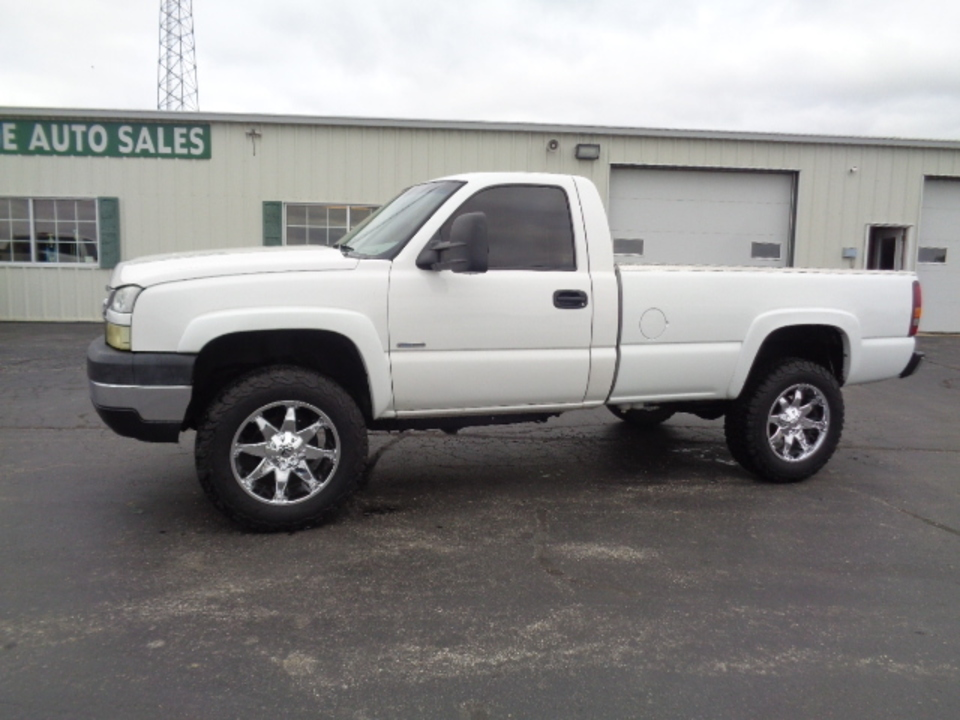 2005 Chevrolet Silverado 2500 HD Regular Cab Diesel 4x4  - 711  - West Side Auto Sales