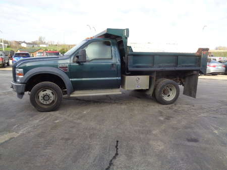 2008 Ford F-550 SD Regular Cab Dually Diesel Dump Truck 4x4 for Sale  - 652  - West Side Auto Sales