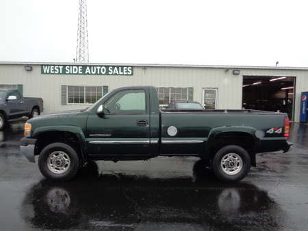 2001 GMC Sierra 2500 HD SLE Regular Cab 4x4 for Sale  - 567  - West Side Auto Sales