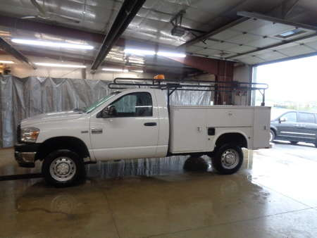 2007 Dodge Ram 2500 Regular Cab ST Utility Truck for Sale  - 513  - West Side Auto Sales