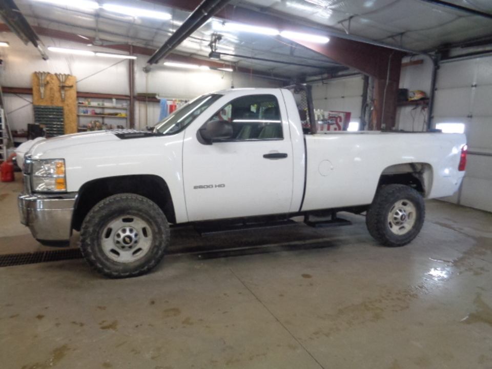 2011 Chevrolet Silverado 2500 HD Regular Cab Work Truck 4x4  - 719  - West Side Auto Sales
