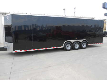 2017 Diamond Cargo Enclosed Trailer 28 ft.  Race Car, UTV, ATV, Storage, V-nose for Sale  - 53nbe2820h1054940  - Auto Drive Inc.
