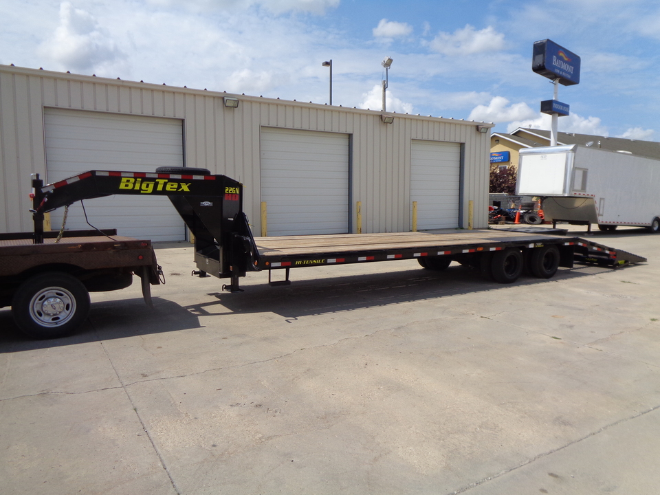 2019 Big Tex 22GN HD 23900 LB GVWR Tandem Duals Mega Spring Assist Ramp  - 9266  - Auto Drive Inc.