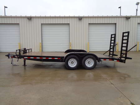 2018 H&H Trailer Fold down Ramps Removable fenders 7000 axles for Sale  - 7638  - Auto Drive Inc.