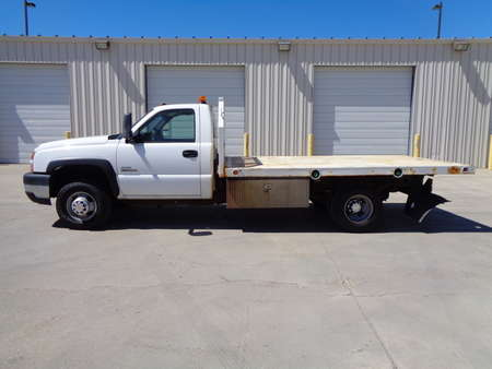 2007 Chevrolet Silvarado 3500 Regular Cab Dually Flatbed for Sale  - 8041  - Auto Drive Inc.