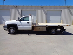 2007 Chevrolet Silvarado 3500 Regular Cab Dually Flatbed  - 8041  - Auto Drive Inc.