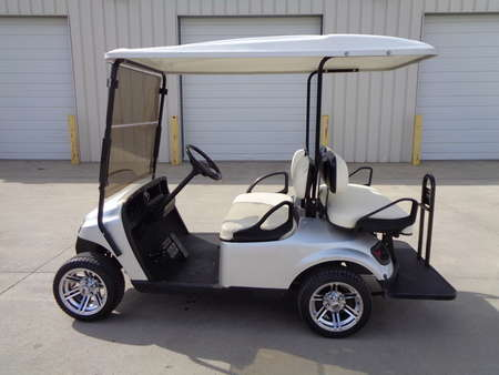 2014 EZ Go Shuttle 2+2 TXT 4 passenger, new tires , folding windshield for Sale  - 4602  - Auto Drive Inc.