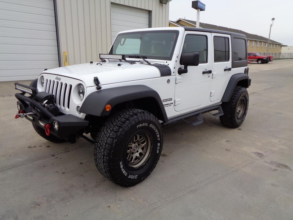 2014 Jeep Wrangler Unlimited  - Auto Drive Inc.