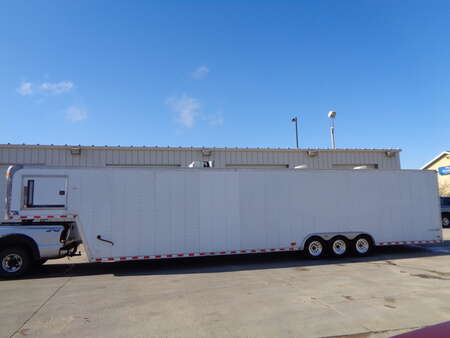 2000 Car Trailer Enclosed 44 Foot, Triple Axle Enclosed Gooseneck for Sale  - 2909  - Auto Drive Inc.