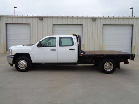 2014 Chevrolet Silvarado 3500 Flatbed Crew Cab Dual Rear Wheel Diesel Duramax for Sale  - 5294  - Auto Drive Inc.