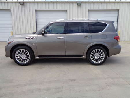 2017 Infiniti QX80 PRICE REDUCED!! Black leather, DVD players, Loaded for Sale  - 3289  - Auto Drive Inc.