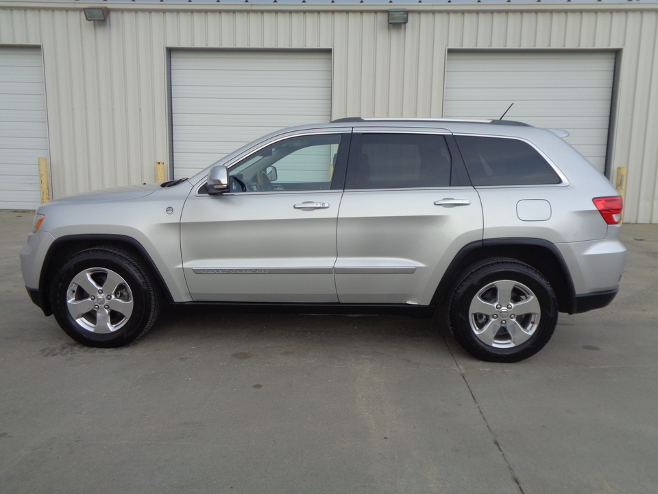 2012 Jeep Grand Cherokee Overland Edition  Black Leather Loaded!!  - 9370  - Auto Drive Inc.