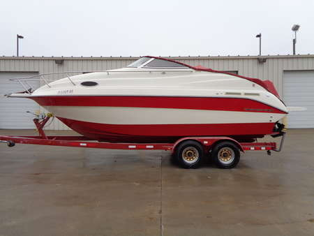 2001 Sea Sprite 260 SE Mid-Cabin Length 28' Fiberglass Hull 5.7 liter Mercrusier for Sale  - M001  - Auto Drive Inc.