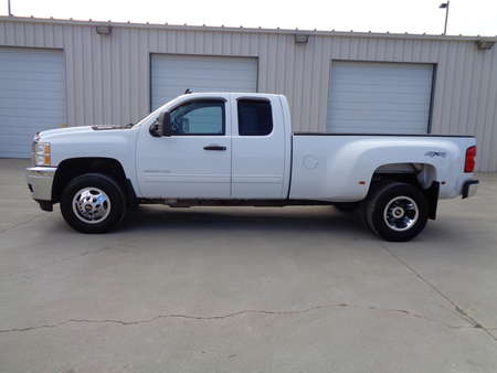 2013 Chevrolet Silvarado 3500 1 ton 4 door extended cab LT 3500 HD Dually 4x4 for Sale  - 4592  - Auto Drive Inc.