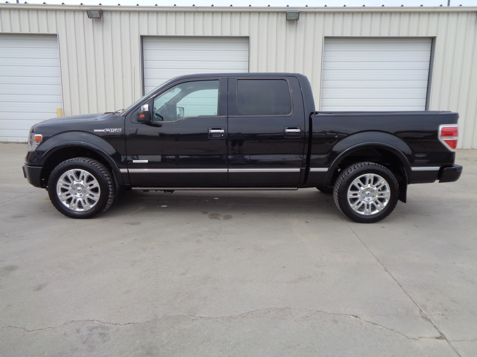 2013 Ford F-150 Platinum, 4 Door, Black Leather loaded  - 4999  - Auto Drive Inc.