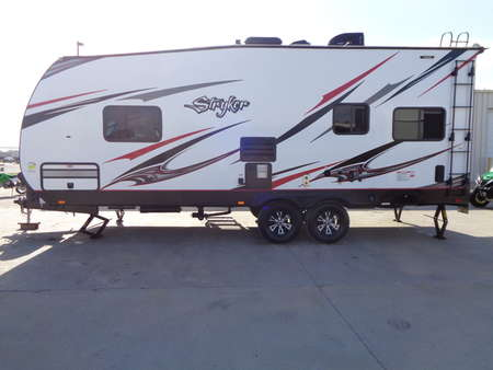 2018 Stryker ST 2313 Toy Hauler. Loaded. Power Awning. Power Jack. for Sale  - 9535  - Auto Drive Inc.