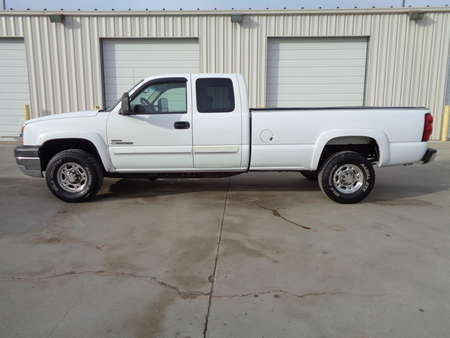 2004 Chevrolet Silverado 2500 HD 4 x4  Ex Cab Longbox  Duramax Diesel 6.6 Allison for Sale  - 6137  - Auto Drive Inc.