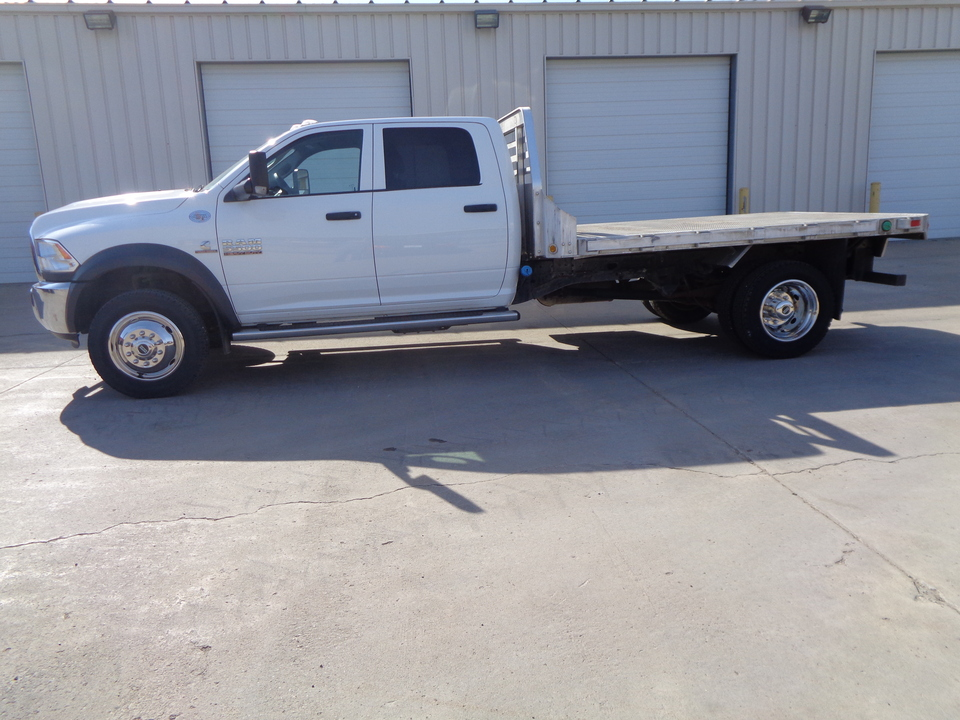2016 Ram 5500 Aluminum Flatbed 5th Wheel New 19.5 tires  - 1561  - Auto Drive Inc.