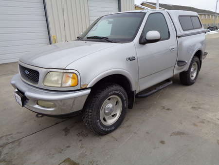 1997 Ford F-150 XLT 4 Wheel Drive Styleside Pickup 4x4 with Topper for Sale  - 8063  - Auto Drive Inc.
