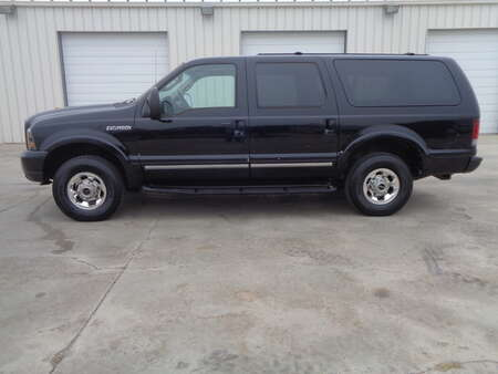 2003 Ford Excursion 6.0 Diesel, Tan Leather Rear Entertainment for Sale  - 6365  - Auto Drive Inc.