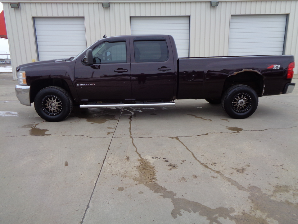 2008 Chevrolet Silverado 2500 HD 4 x4  Crew Cab Longbox, Diesel Custom Wheels  - 6001  - Auto Drive Inc.