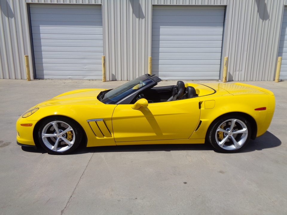 2012 Chevrolet Corvette Grand Sport, Convertible Black Leather  - 9815  - Auto Drive Inc.