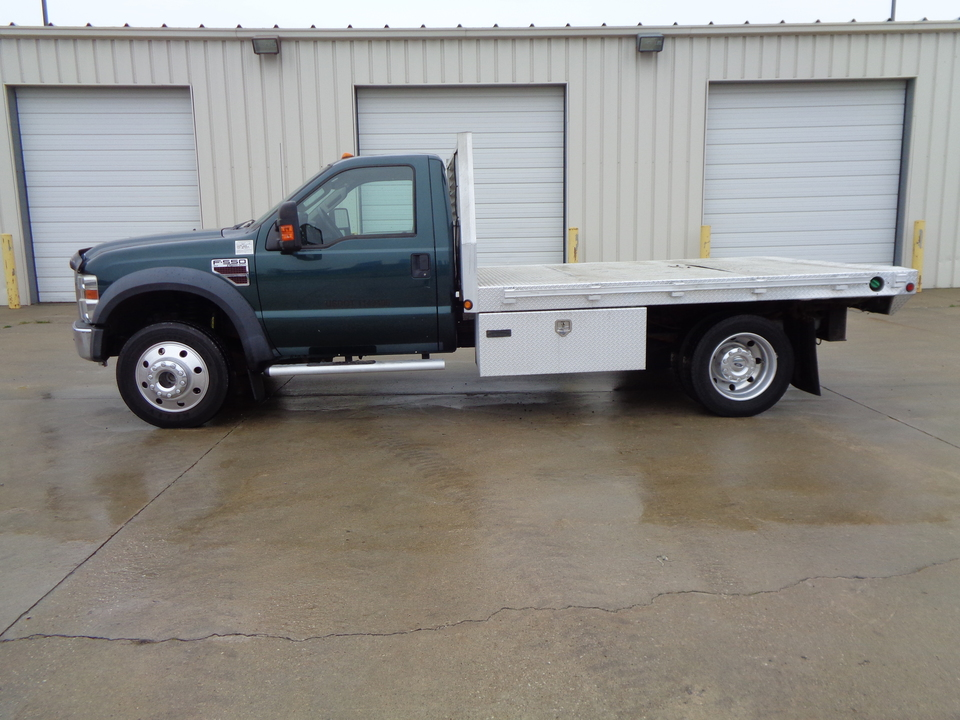 2008 Ford F-550 XLT Package. 6.4 Diesel Powerstroke 6 speed manual  - 1589  - Auto Drive Inc.